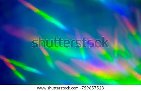 Background image refraction of