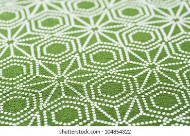 Background of japanese fabric