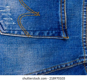 Background of jeans texture