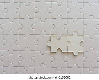 Background of jigsaw.