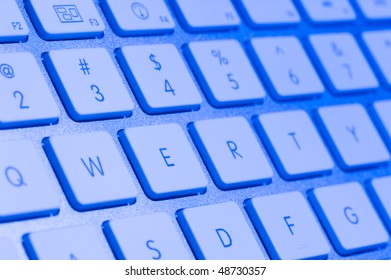 Background with keyboard. Technology abstract with keypad