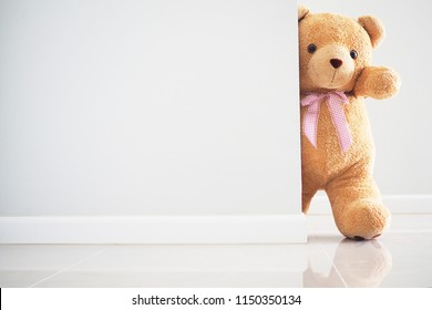 Background for kids play Teddy bear