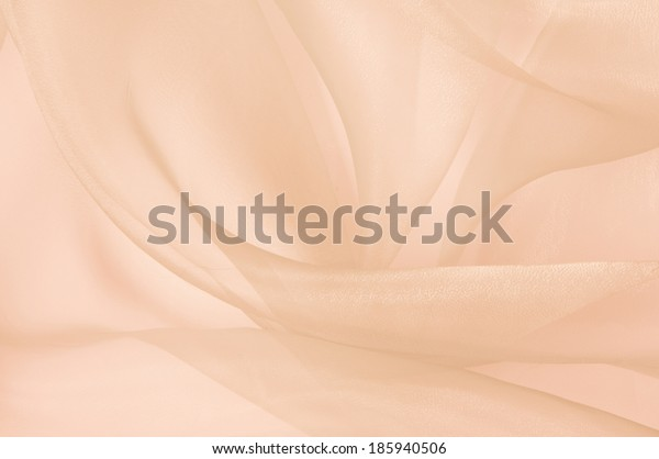 the background of light transparent silk