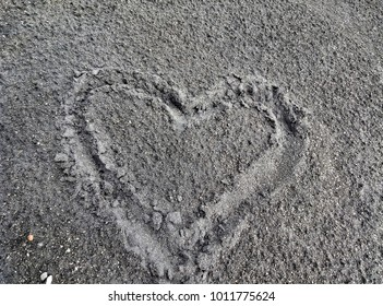 background love heart valentine