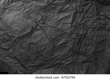 Background made of black paper
