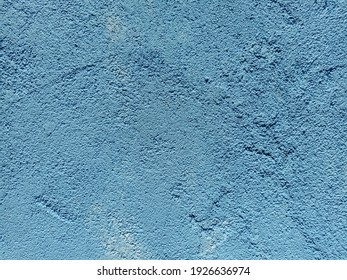 Background made of blue concrete with patterns