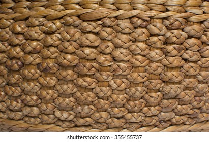 background made from Dry Water hyacinth.