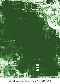 Background made of grunge elements