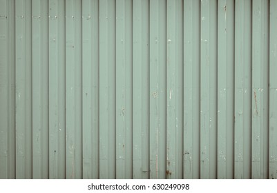 Background made of olive metal cargo container