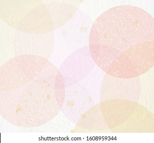 Background material made of transparent Japanese paper (composed of pastel colors)  - Shutterstock ID 1608959344