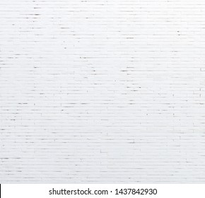 Background Material White Brick Wall