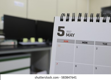 Background, may of calendar
