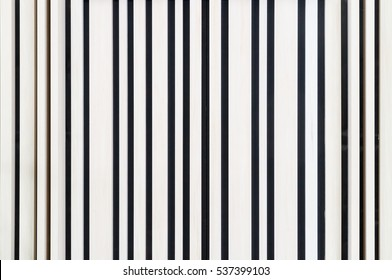 Background with metal strips
