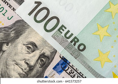 Background of the money. Euro and Dollar. financial concept