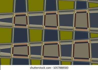 Background mosaic glass graphic interior modern orange