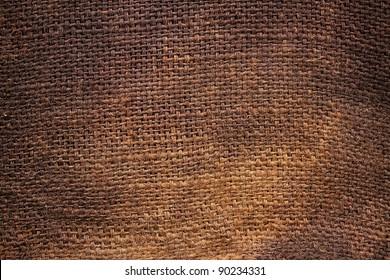 Background of Natural burlap hessian sacking