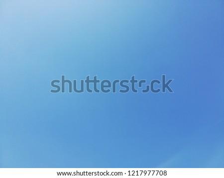 Background No Cloud Sky Blue Color Stock Photo Edit Now 1217977708