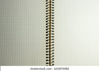 background of a notebook in a box