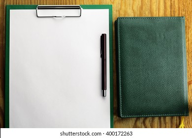 background notepad pen notebook