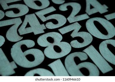 Background of numbers. from zero to nine. Background with numbers. Numbers texture
