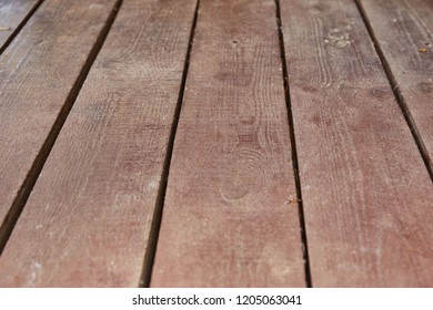 Background, old brown wooden boards, perspective - Shutterstock ID 1205063041