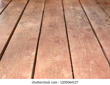 Background, old brown wooden boards, perspective - Shutterstock ID 1205064127