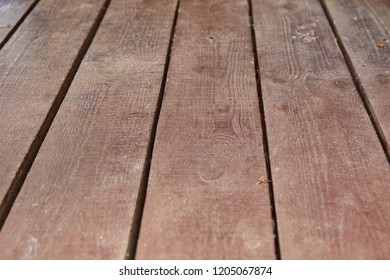 Background, old brown wooden boards, perspective - Shutterstock ID 1205067874
