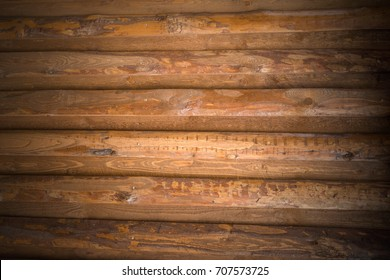 Background of old brown wooden boards
