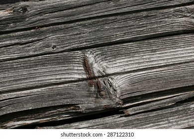 background of an old cracked wooden wall vintage