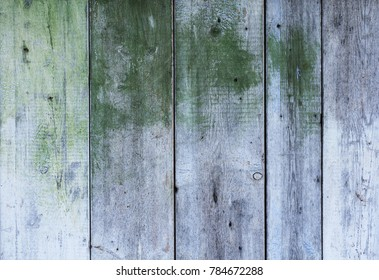background of an old fence