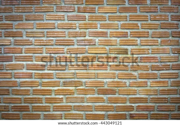 Background Old Vintage Brick Wall Oily Stock Photo (Edit Now