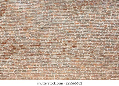 Background of Old Vintage Colorful large Brick Wall