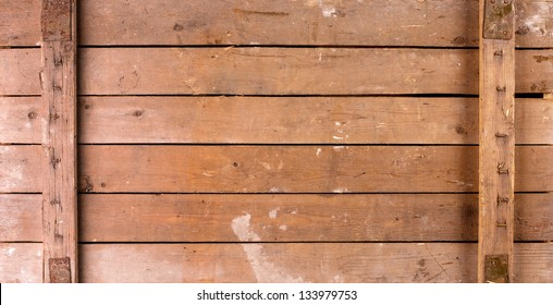 Background Of Old Wooden Box