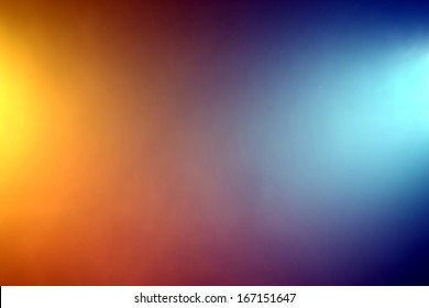 Orange blue background images stock photos vectors shutterstock background of orange and blue color lights shining through fog altavistaventures Images