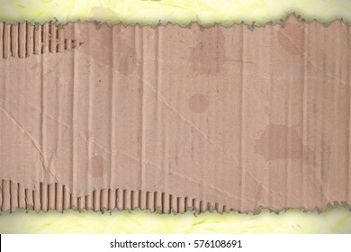 Background - orange wrinkled paper