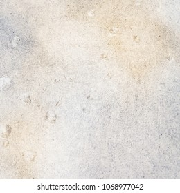 Background page design for a photo book, scrapbook or wallpaper in blue and yellow - brown colors; abstract stone and rain drop textures