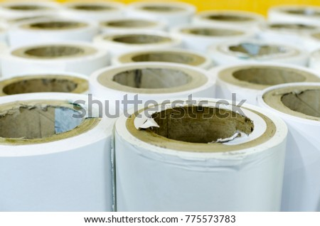 background paper rolls stock photo edit now 775573783 shutterstock