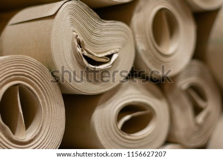 background paper rolls cardboard roll paper stock photo edit now