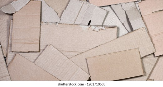 Background of paper textures piled ready to recycle. A pack of old office cardboard for recycling of waste paper. Pile of wastepaper