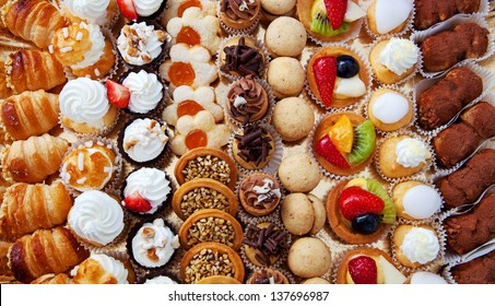 Background of pastry