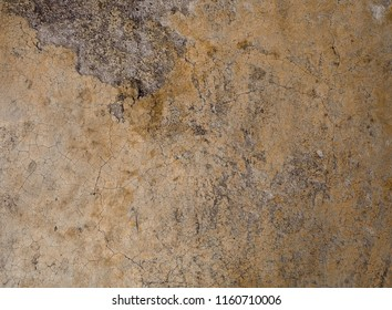 Background Pattern, Brown Concrete Floor Texture or Cement Road Texture with Copy Space for Text Decorated.