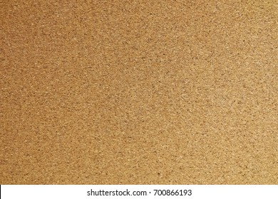 Background Pattern, Detail of Brown Cork Board Texture with Copy Space for Text Decorated.