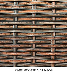 Background and pattern from Handicraft rattan