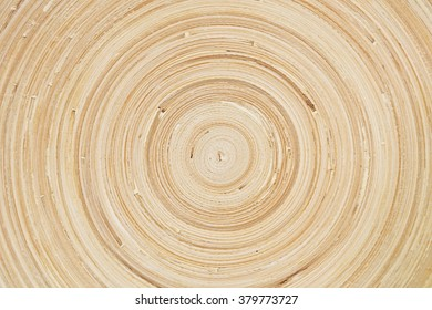 Background Pattern, Horizontal Wood Texture of Cut Tree Trunk with Copy Space for Text Decorated.