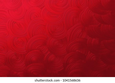 Background Pattern, Red Spiral or Swirl Seamless Background or Texture with Copy Space for Text Decorated.