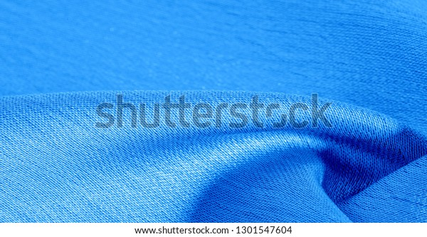 Background Pattern Texture Wallpaper Blue Silk Royalty