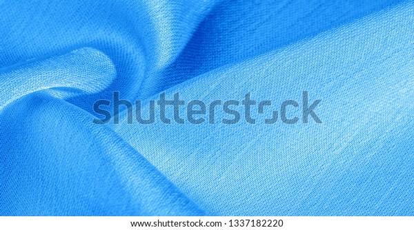 Background Pattern Texture Wallpaper Blue Silk Stock Photo
