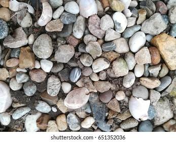 Background pebbles stones
