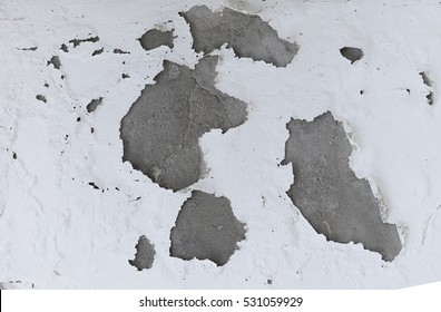 Background of peeled paint wall