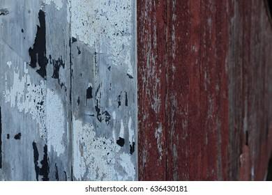 Background of peeling paint